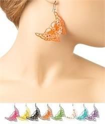 zarcillos mariposa