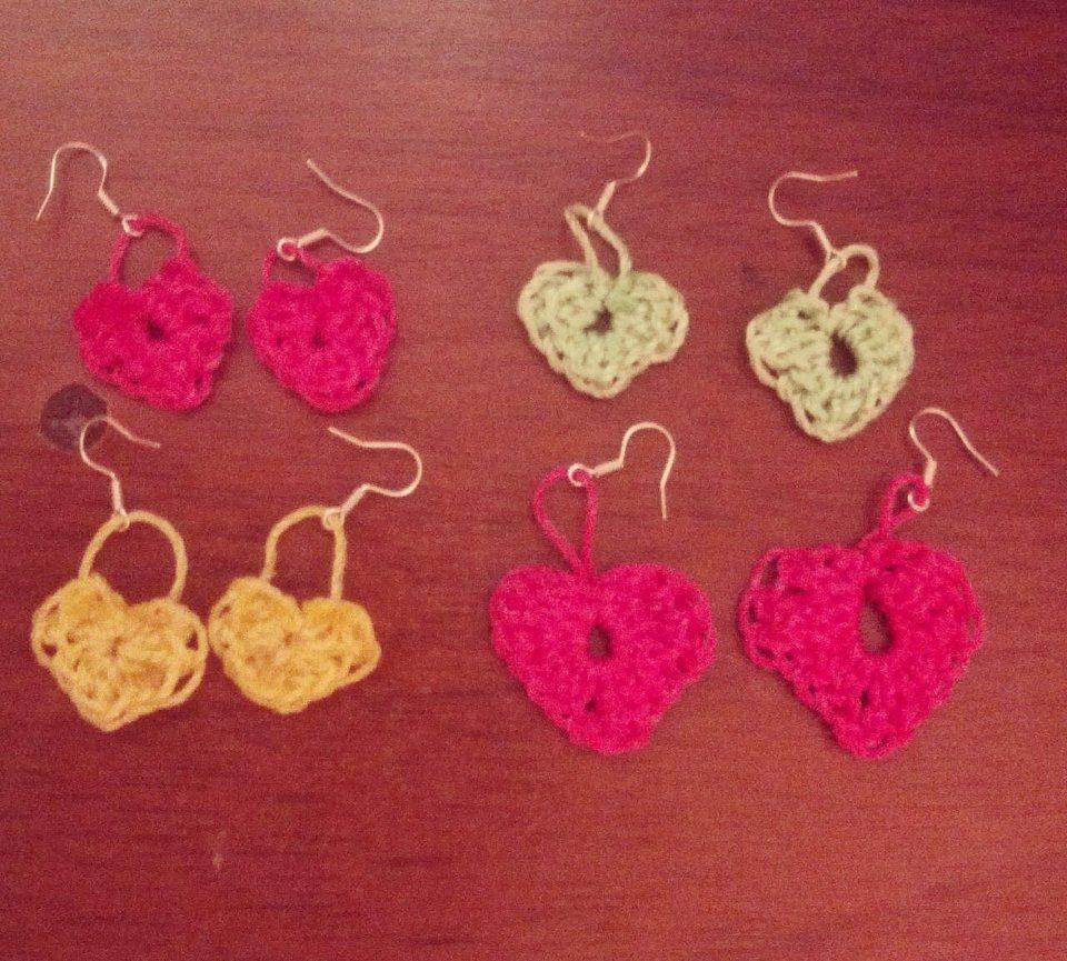 e027f2bc62d4 zarcillos y aretes tejidos en crochet. Cargando zoom.