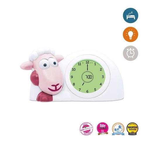 zazu kids sam sleep trainer reloj despertador y luz nocturna