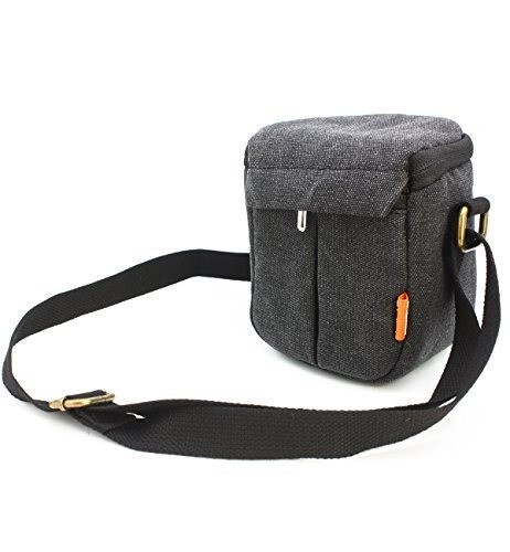 zdmoon gray camera case bag canvas for sony a5000 a5100 a600