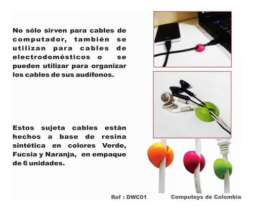 zdwc01 clips organizadores de cables qdwc01q compu-toys
