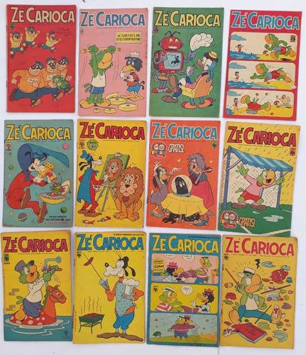 zé carioca 1975 abril 4 hq´s gibis raros frete grátis
