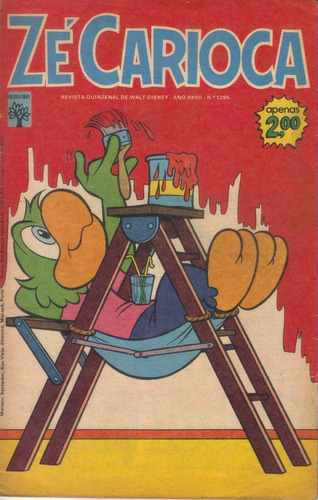zé carioca nº 1295 03/09/1973 perfeita