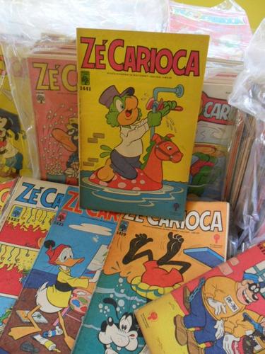 zé carioca! vários! r$ 7,00 cada! 1971 até 2007!