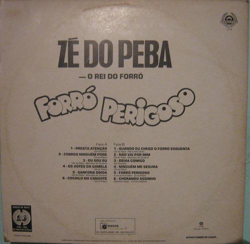 zé do peba - forró perigoso - 1983