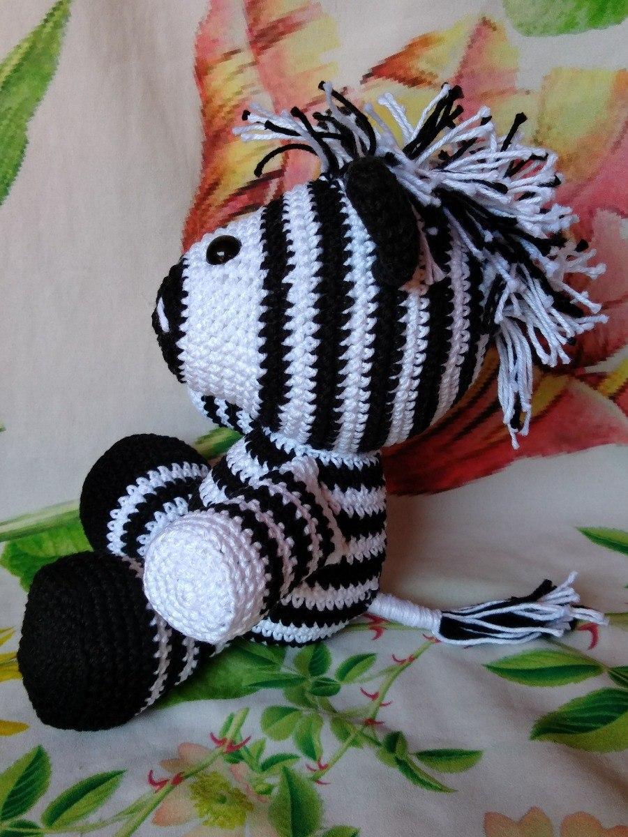 How To Crochet A Cute Toy Zebra - DIY Crafts Tutorial ... | 1200x900
