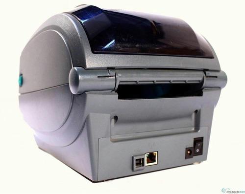 zebra gk420t impresora de etiquetas seriales usb ethernet