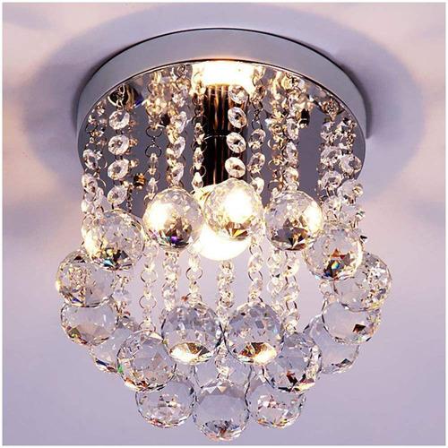 zeefo lámpara araña de cristal para techo