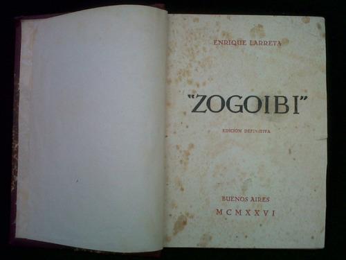 zegoibi, enrique larreta