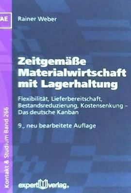 zeitgemäße materialwirtschaft mit lagerhaltung(libro )