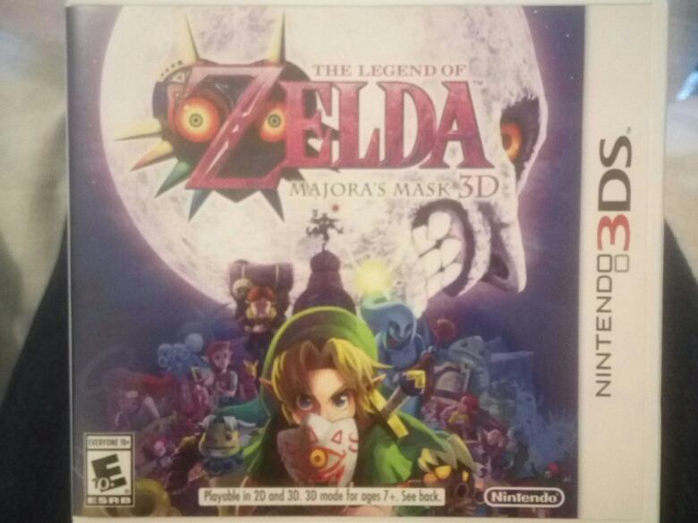 Zelda 3ds Majora Mask Juego Nuevo No Sellado 24 000 En