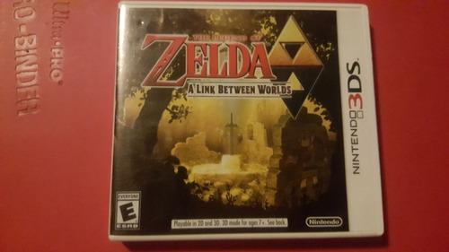 zelda a link  between worlds 3ds