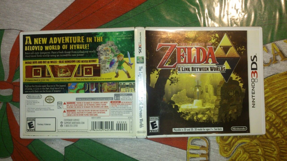 Zelda: A Link Between Worlds Para Nintendo 3ds