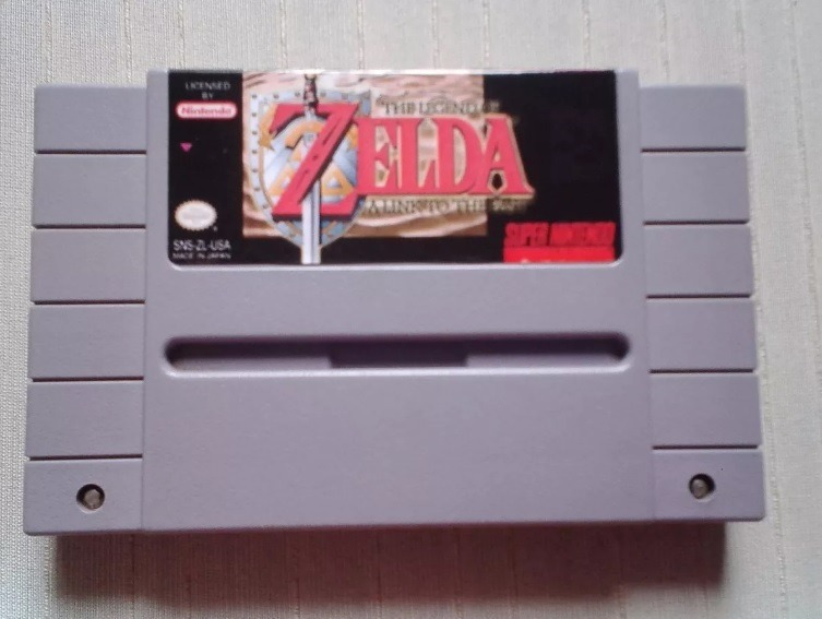 Zelda A Link To The Past E Harvest Moon Em Português - Snes