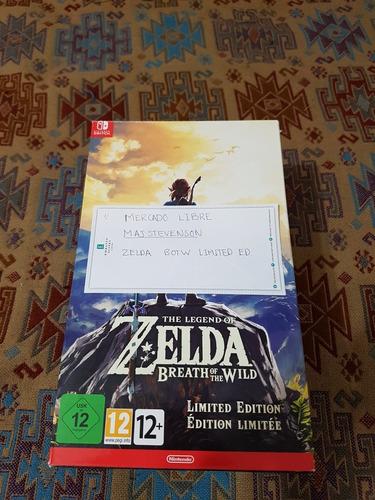 zelda breath of the wild limited edition con (master sword)