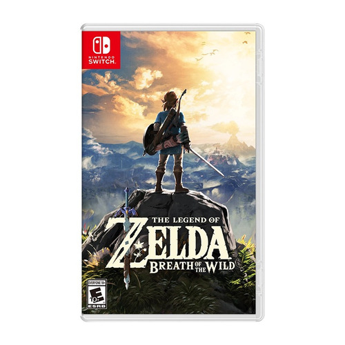 zelda breath of the wild para nintendo switch físico