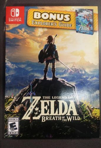 zelda breath the wild nintendo switch