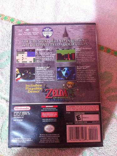 zelda collectors edition gamecube
