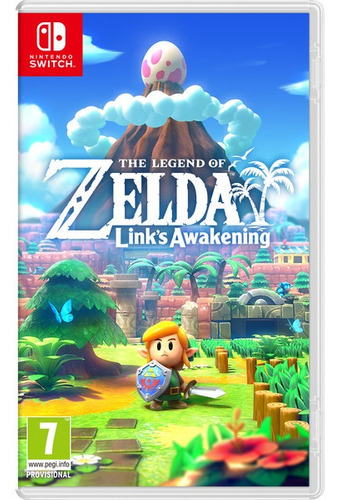 zelda links awakening nintendo switch entrega inmediata