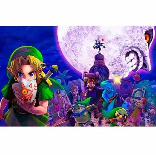 jogo the legend of zelda majora s mask 3d nintendo 3ds r 199 00