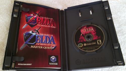 zelda  ocarina of time gamecube con manual.-