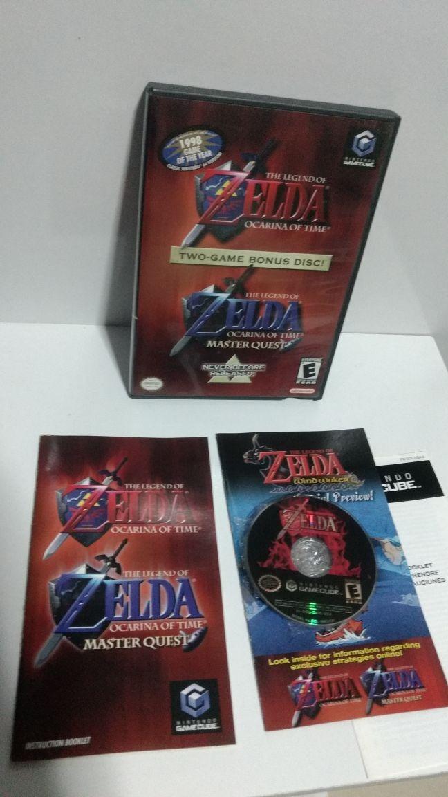 Zelda Ocarina Of Time Master Quest Gamecube Completo