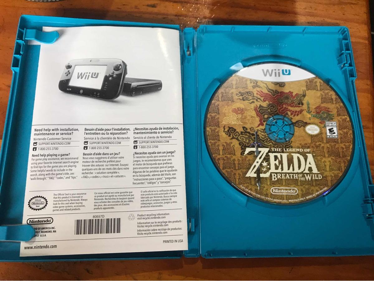 Zelda Para Wii U Disco Fisico 1 700 00 En Mercado Libre