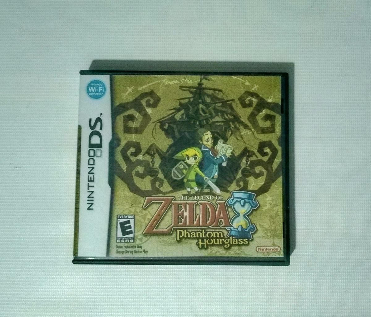 Zelda Phantom Hourglass Juego Pa Nintendo Ds Usado No Manual
