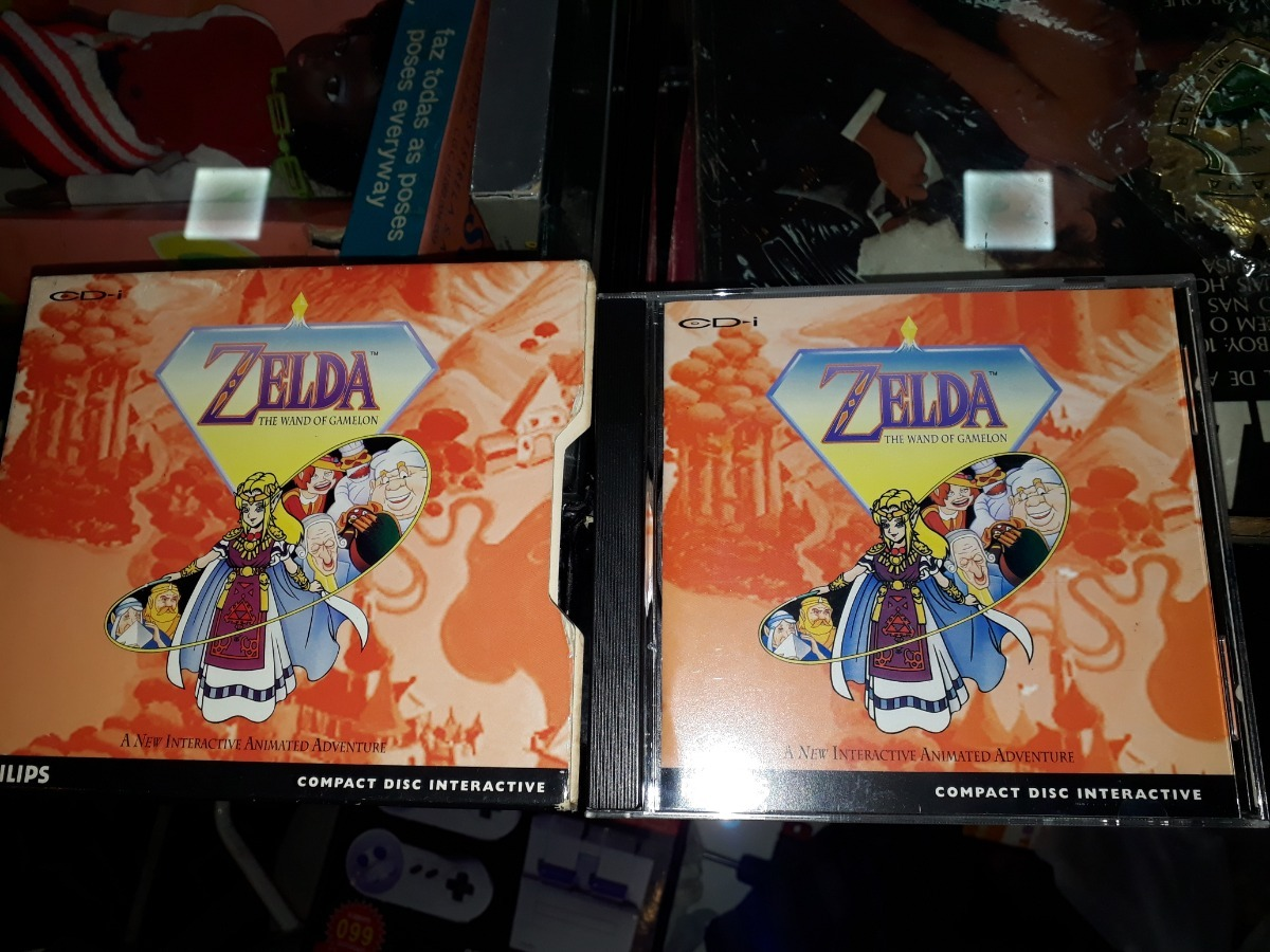 Zelda The Wand Of Gamelon Completo Muito Raro Cdi Philips