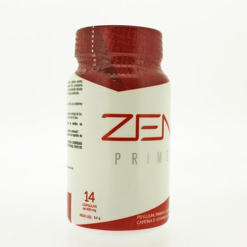 zen prime jeunesse - 14 cápsulas - detóx