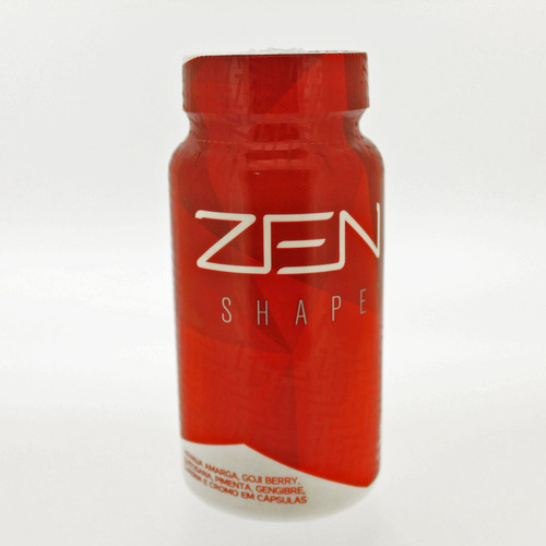 zen shape jeunesse - controle de peso - pote c/60 cápsulas