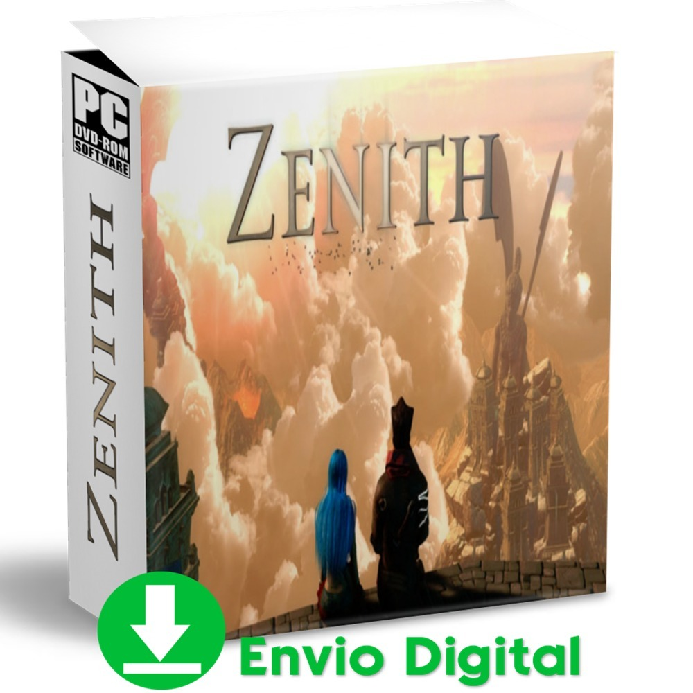 Zenith Pc Rpg Mídia Digital Envio Agora 2019