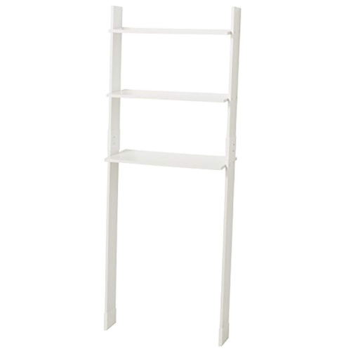 zenna home 9431w, leaning wood ladder-style