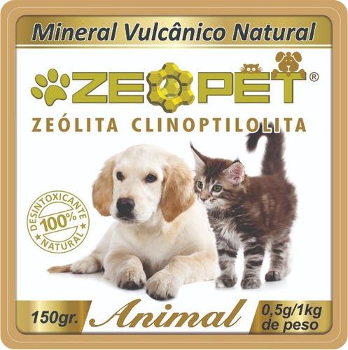 zeopet 150g - recuperação hepática & renal - detox animal