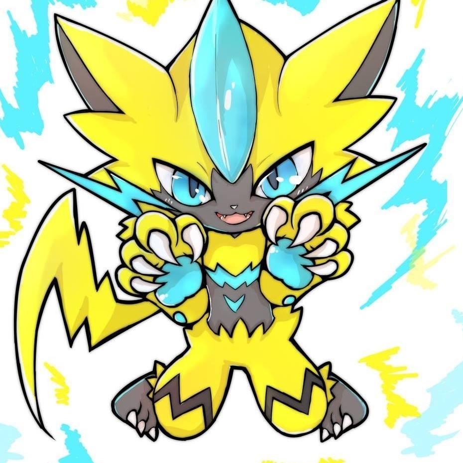 Zeraora Evento Oficial Pokemon Ultra Sol Ultra Luna 6iv
