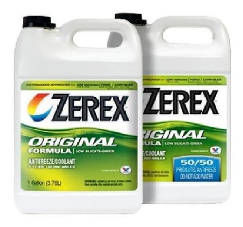 zerex refrigerante 4 litros  valvoline bidon  zona norte
