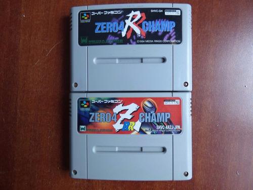 zero 4 r champ set super famicom zonagamz japon