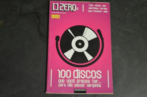 zero edição especial 100 discos que você precisa ter revista