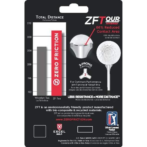zero friction tour 3-prong golf tees  3-1