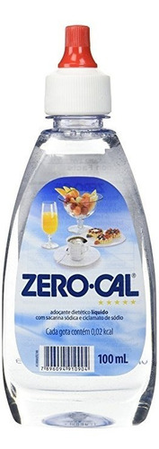 zerocal endulzante sin calorias cerocal 100ml