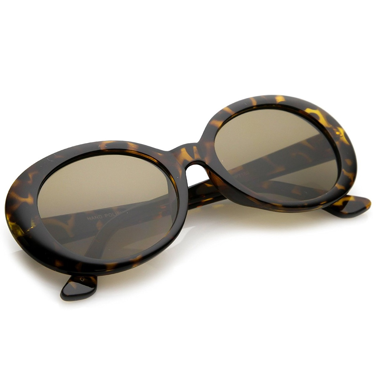 Zerouv - Clout Grande Gafas De Sol Gafas De Marco Grueso Ova ...