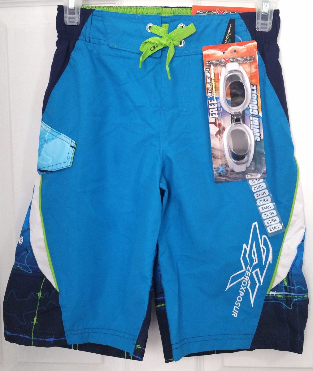 zeroxposur ropa de baño - surf short c upf50+ nuevo. Cargando zoom. f84f0e9be9d