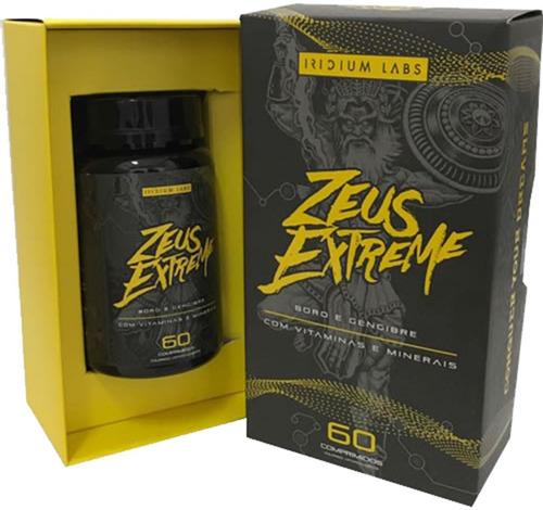 zeus extreme super pro hormonal  60 comprimidos 12x s/ juros