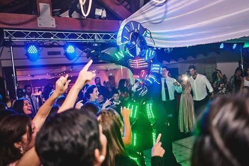 zeus robot led show