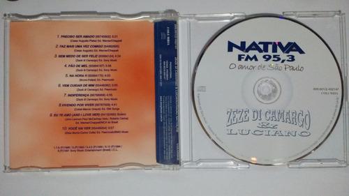 zezé di camargo e luciano nativa fm 95,3 single cd