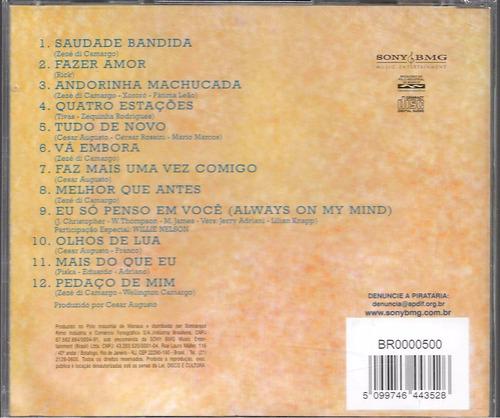 zezé di camargo & luciano cd 1993 novo original lacrado