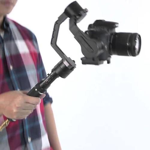 zhiyun crane estabilizador de video de 3 ejes para camaras