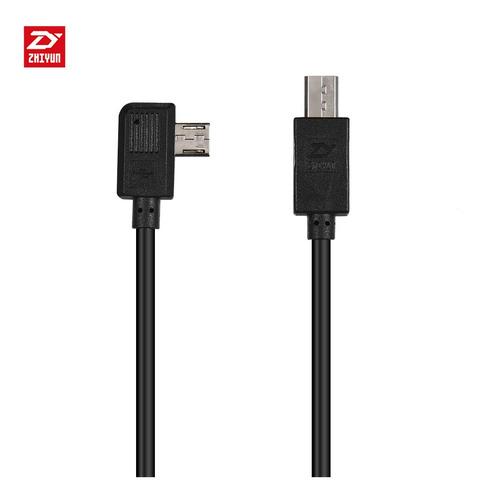zhiyun multi cable de carga para cámara sony controlada por