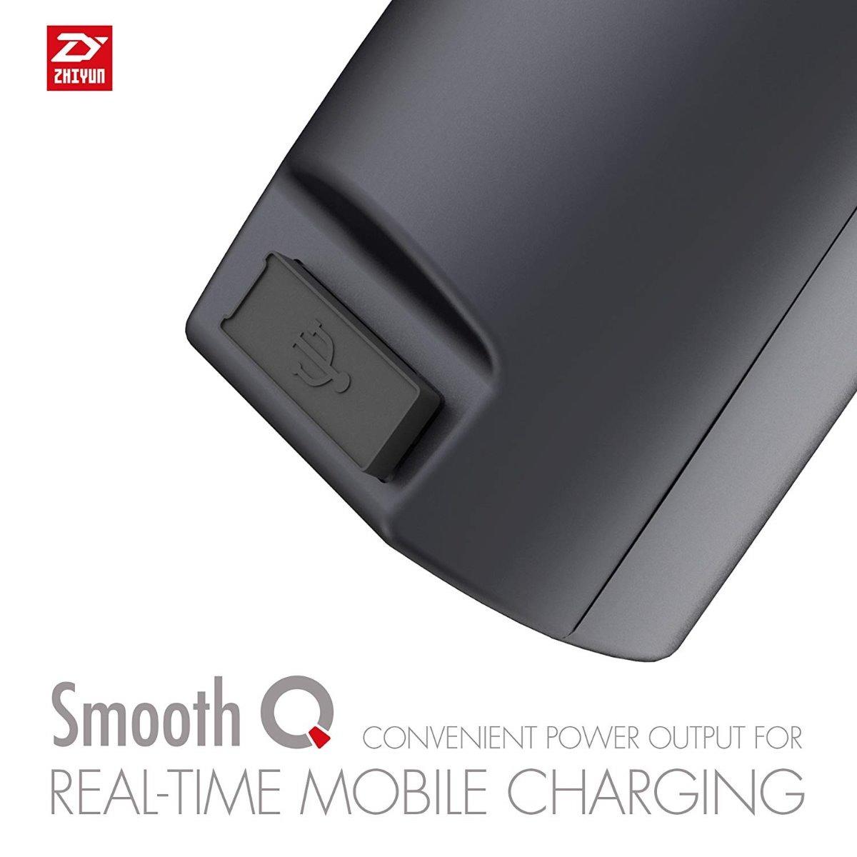 zhiyun smooth q ファームウェア