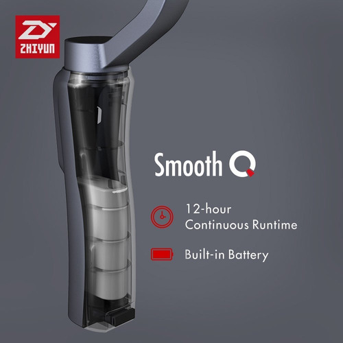 zhiyun smooth q estabilizador smartphones gopro - inteldeals